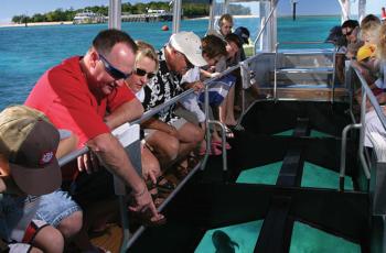 AllCairnsTours.com.au Glass bottom boat